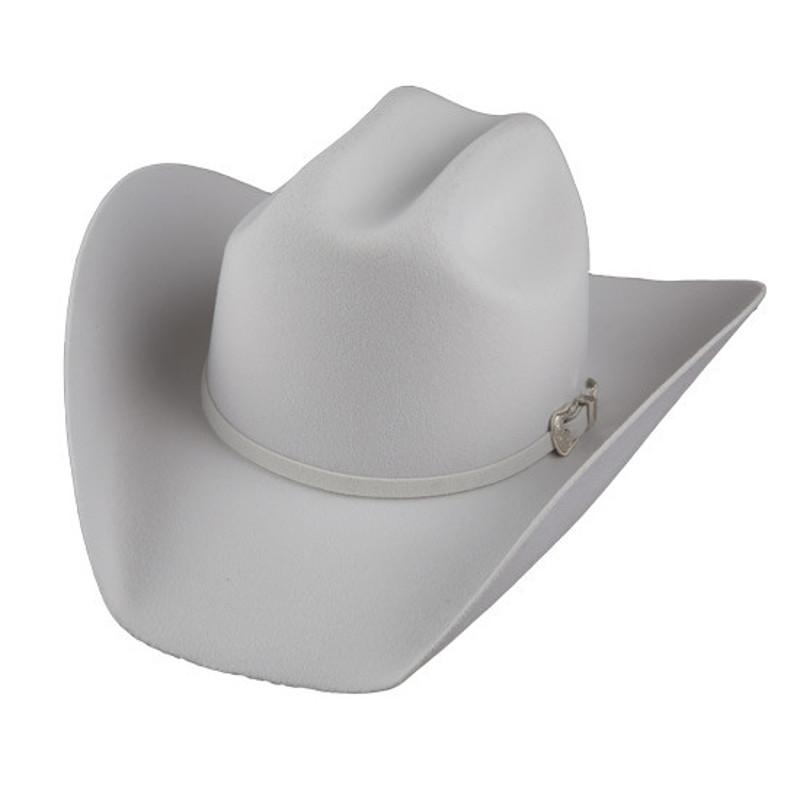 af8a813bb67 Bailey Western Lightning 4X Cowboy Hat White  W0604A
